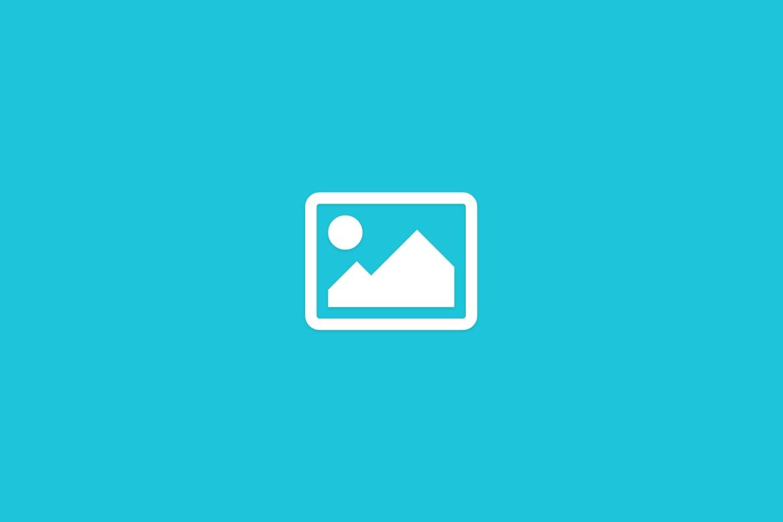 Blue image placeholder